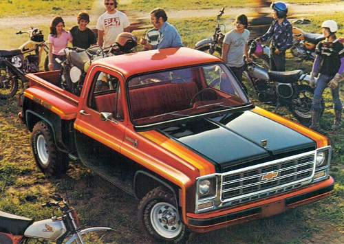 1979 Chevrolet K10 Stepside Pickup Truck | by coconv