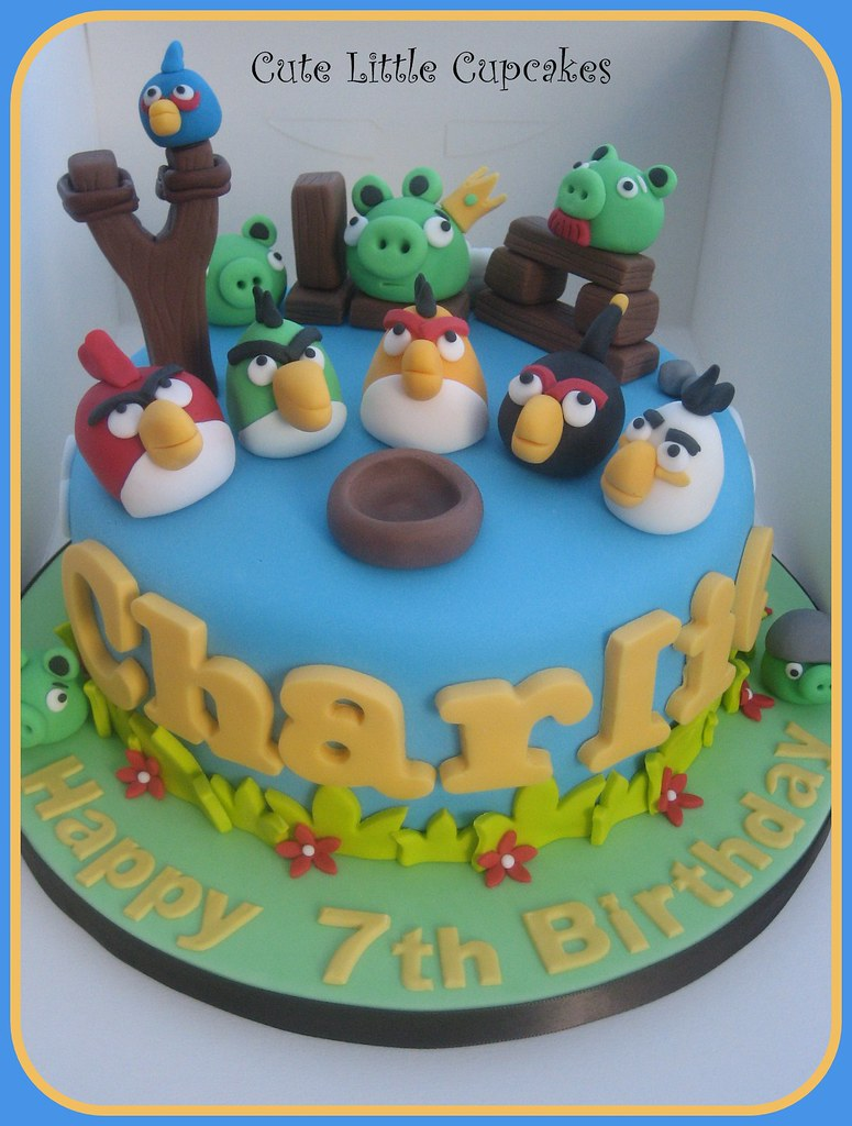 Angry Birds Birthday Cake Heidi Stone Flickr