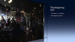 "Thanksgiving 2011  ""The Gathering""  on Vimeo by DigitalDoug 