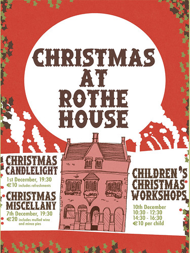 Rothe House Christmas Poster 2011 | by Alé Mercado