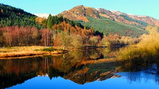 Reflections on the loch | by Ann Callaghan.....