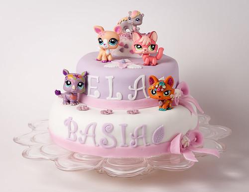 Plastic Birthday Cake For Kids