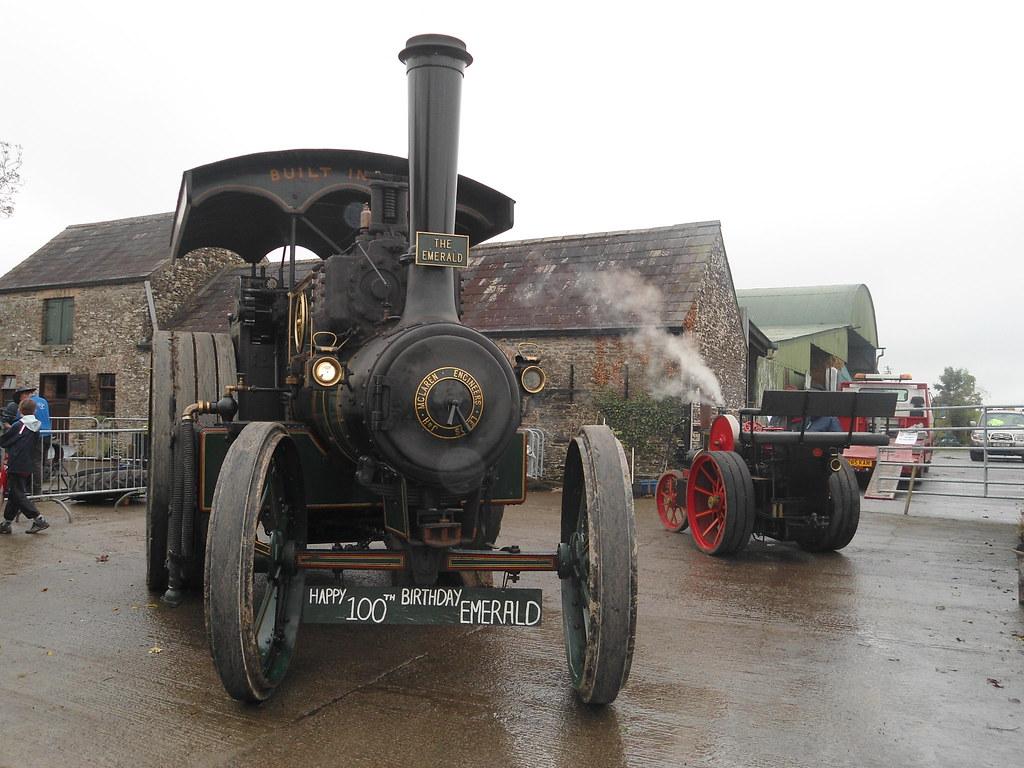 1911 mclaren steam engine the emerald shane cranney flickr