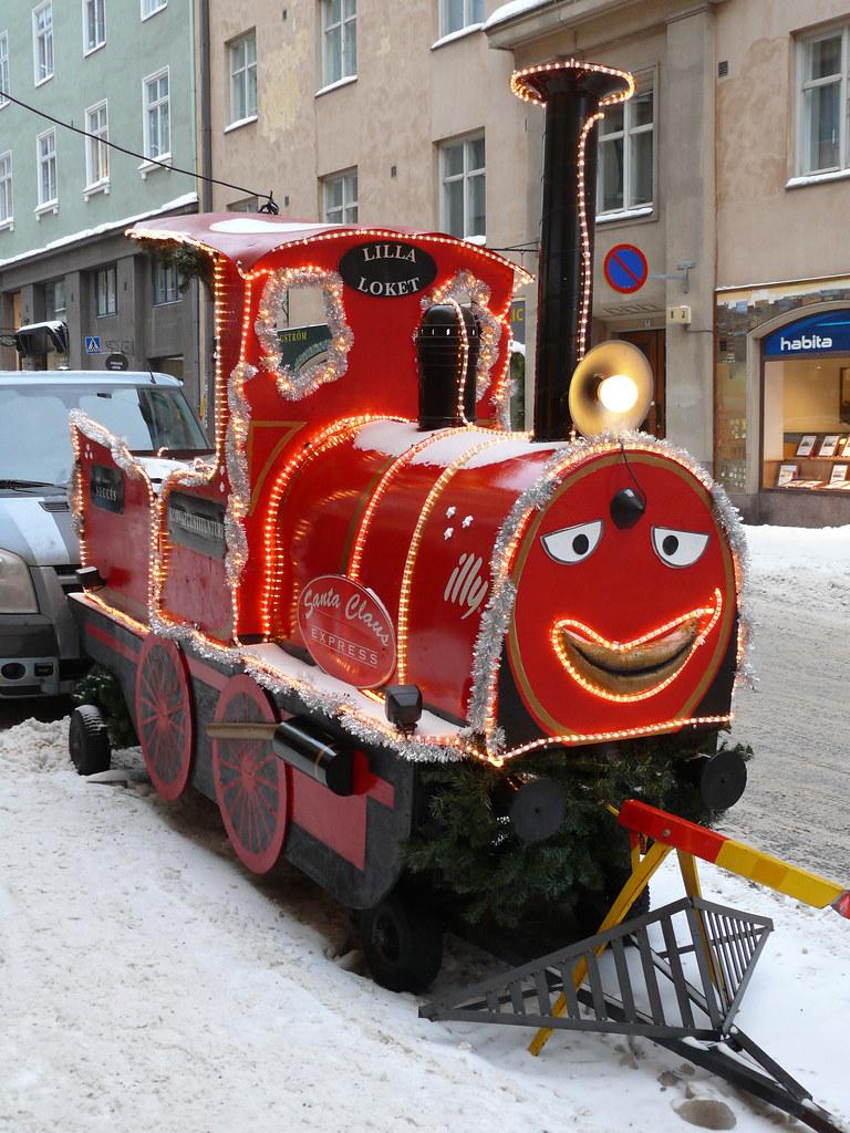 Boogie woogie choo choo train christmas