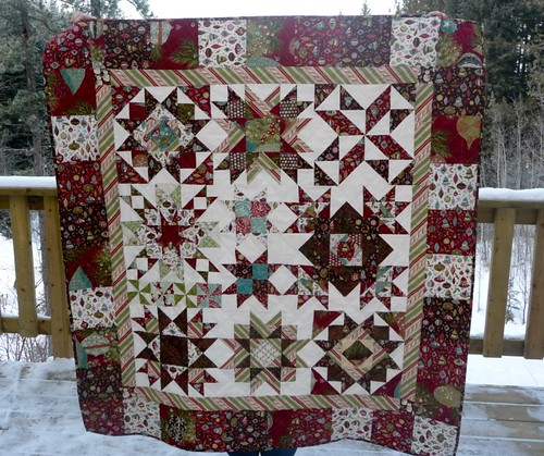 Christmas Star Quilt | by CoraQuilts~Carla