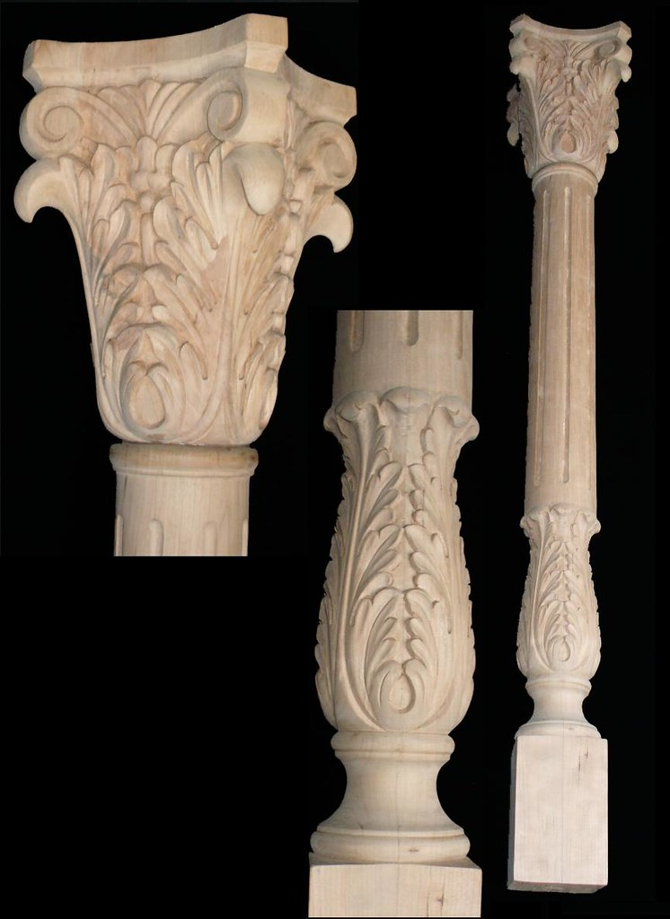 hand carved bar pillar and capitals we specialize in hand flickr