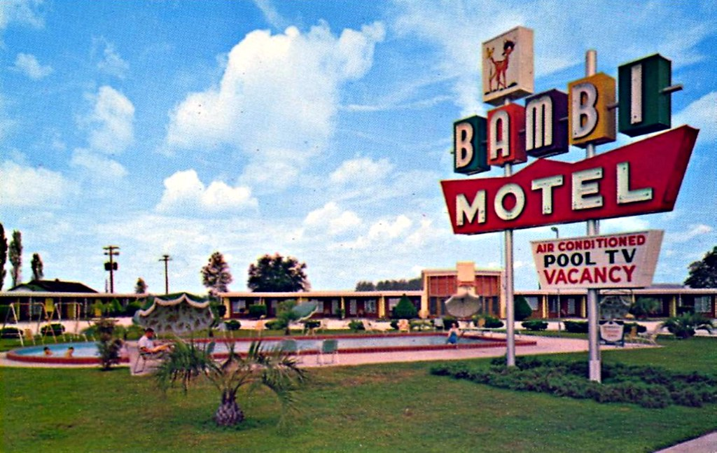 Bambi Motel - Perry, Florida