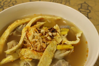 Scrumptious wonton soup. | by ironypoisoning