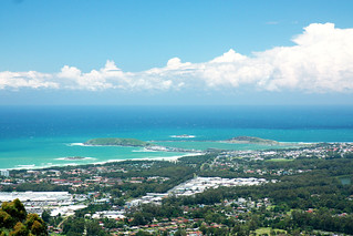 View of Coffs Harbour from Sealy lookout | by Andrea Schaffer