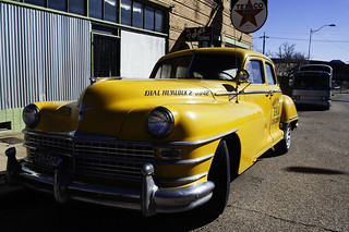 Chrysler yellow cab | by Orbisnonsuficit