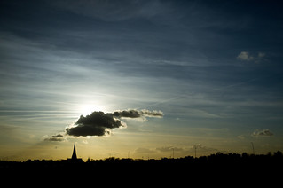 Sunset Over Blackheath Church | by philrak