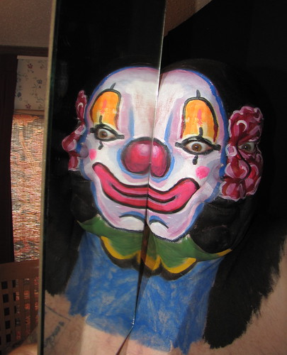#590. Clown in the Mirror. | by hawhawjames