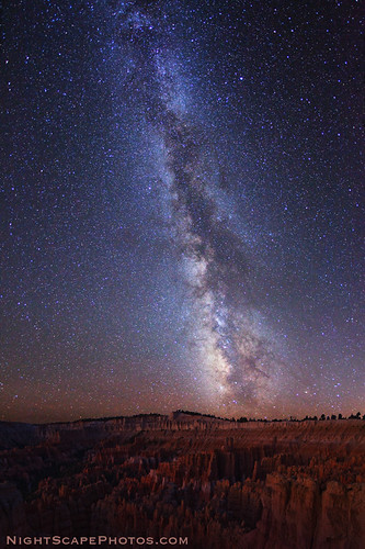 "Milky Way stars over Bryce Canyon | by IronRodArt - Royce Bair (""Star Shooter"")"
