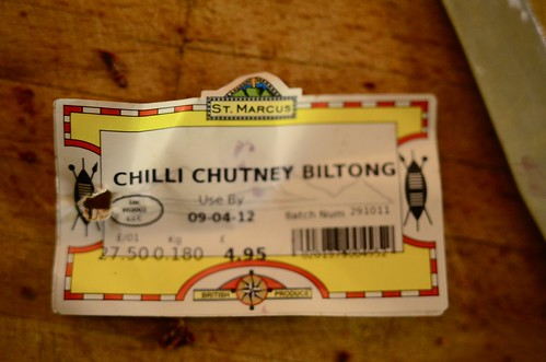 January 14th - Chilli Chutney Billtong | by The Hungry Cyclist