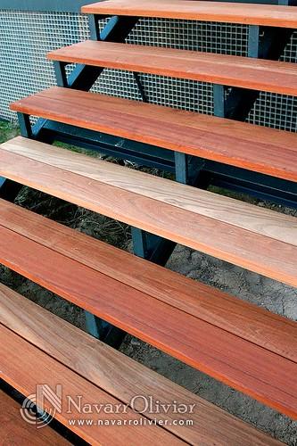 Pelda os escalera de madera exteriores escalera para - Peldanos de madera para escalera ...