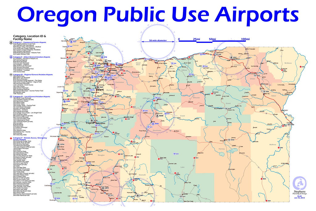 Oregon Public Use Airports Oregon Public Use Airports with Flickr