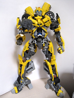 Bumblebee 01-front | by Bricktron