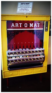 Fine art, $5 at the Art-O-Mat (Chandler Center for the Arts) | by derekmarkham