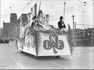 Saint Patrick's Day parade, Irish National Foresters, 1930s by Sam Hood | by State Library of New South Wales collection