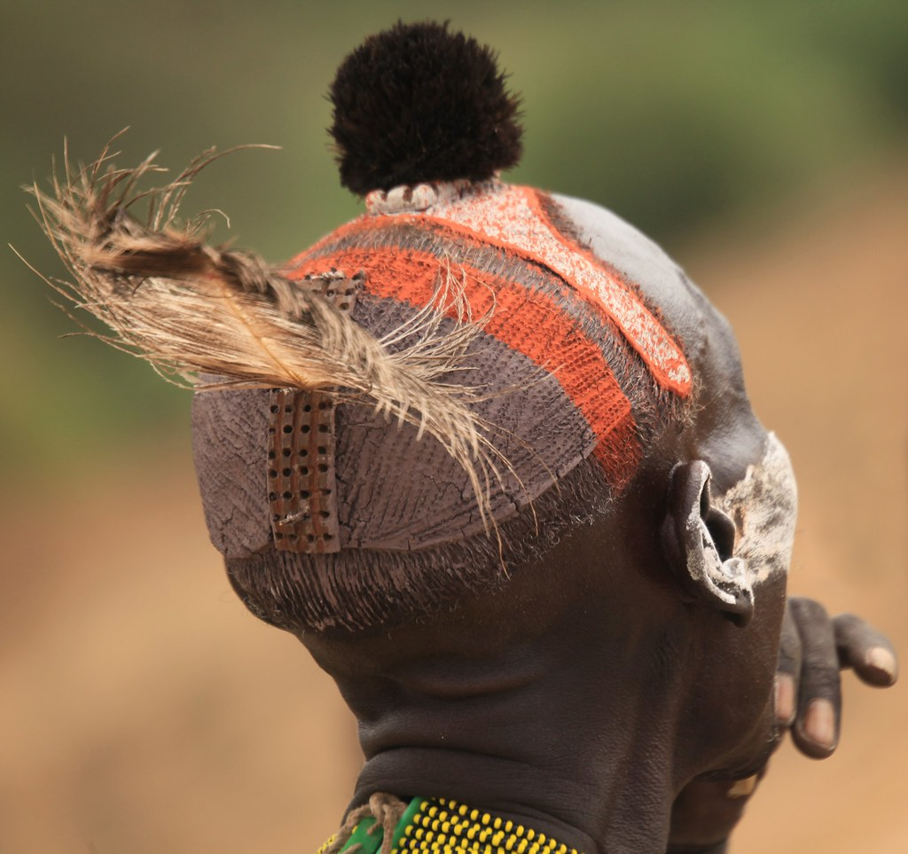 Karo Tribe Scarification