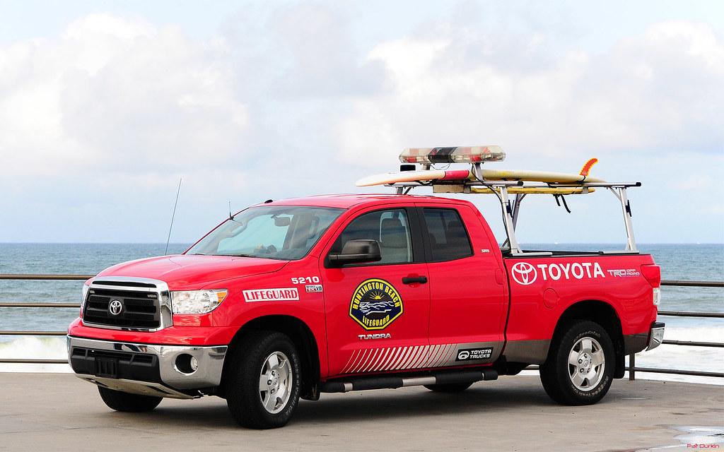 ... Toyota Tundra 4X4 Pickup   Huntington Beach Lifeguards     Huntington  Beach, 066 |