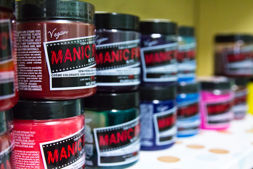 Hair Color Manic Panic Beauty Supplies Moxie Beauty Salon … | Flickr