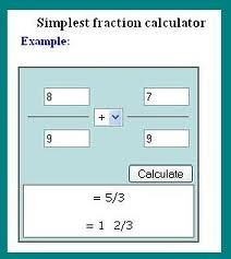 a simplest form calculator  Simplest form calculator | Simplest form calculator is an on ...