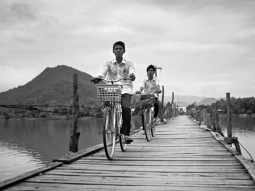 Crossing the Bridge, Somewhere near Nha Trang | by adde adesokan