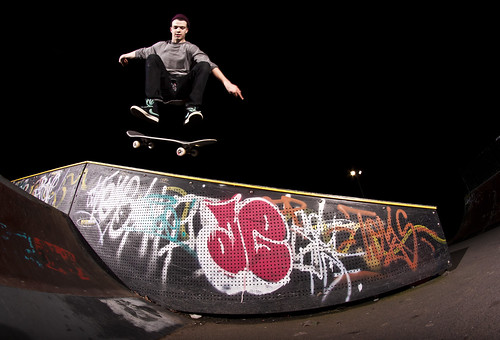 Zac Parkinson - Kickflip BS 50-50 | by tom illsley