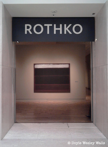 Entrance to the Rothko Exhibit at PAM | by Doyle Wesley Walls