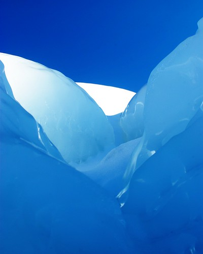 Blue Ice Abstract | by dcclark