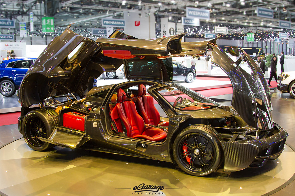 Pagani Huayra Carbon Interior Photo By Josh Decker For Www Flickr