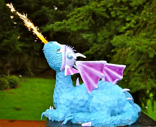 Fire Breathing Dragon Cake | by Stephanie's Cakes