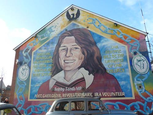 Belfast bobby sands mural karikristensen flickr for Bobby sands mural belfast