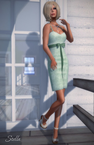 E! Kate mesh dress | by Stella Stapleton