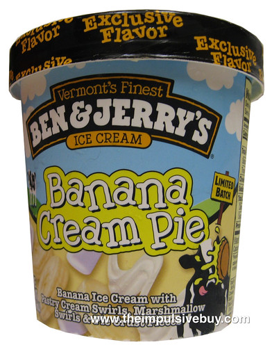 Ben & Jerry's Ice Cream Banana Cream Pie | by theimpulsivebuy