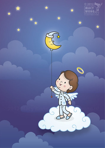 Sweet dreams.. | by Macy Wong illustrations
