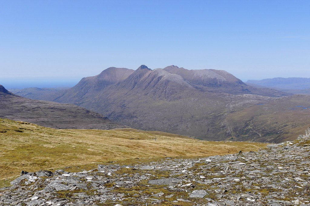 An Teallach from Creag Rainich
