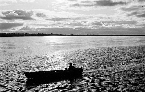 Boat on the Mackenzie River | by Dcysiv Moment