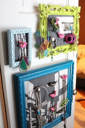 DIY Jewelry Holder | by Not_Exactly_Martha