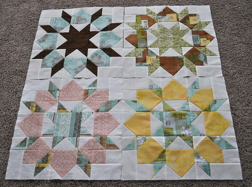 first four swoon blocks | by vickivictoria