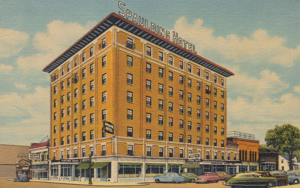 Spaulding Hotel - Michigan City, Indiana