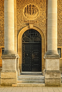 UK - Oxford - Rhodes House doorway wide | by Darrell Godliman