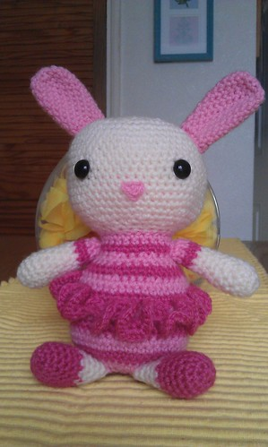 Amigurumi Ballerina Bunny : Amigurumi Ballerina Bunny I made this bunny for Lees ...