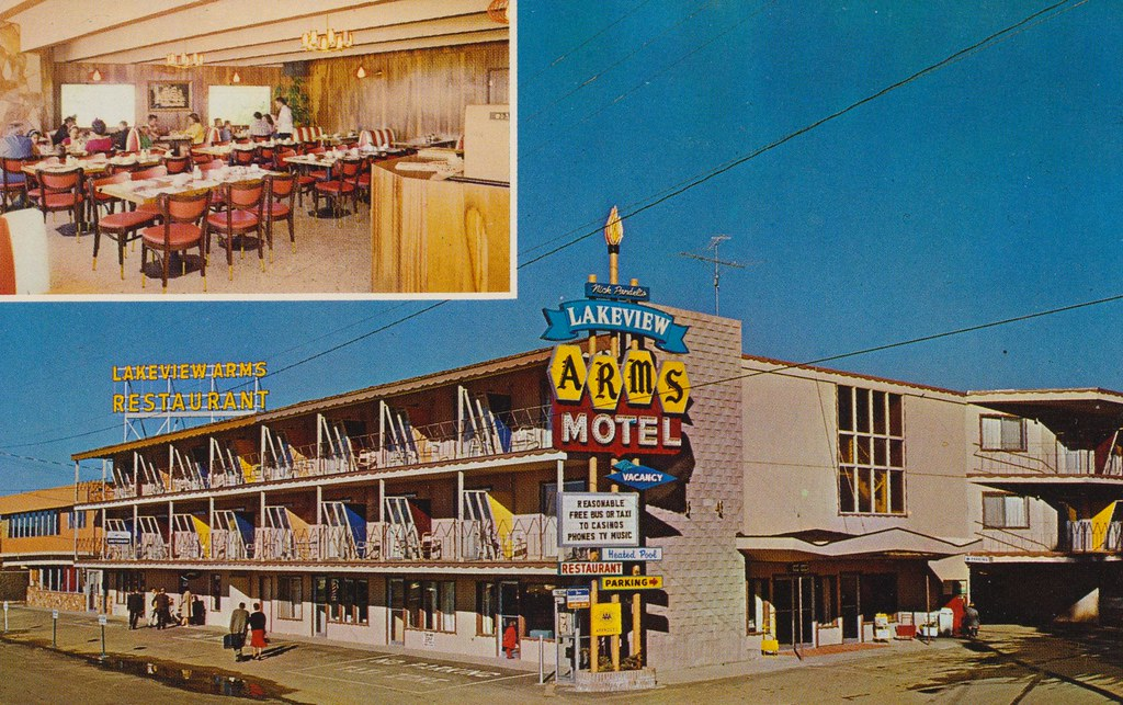 Lake View Arms Motor Hotel - Bijou, California
