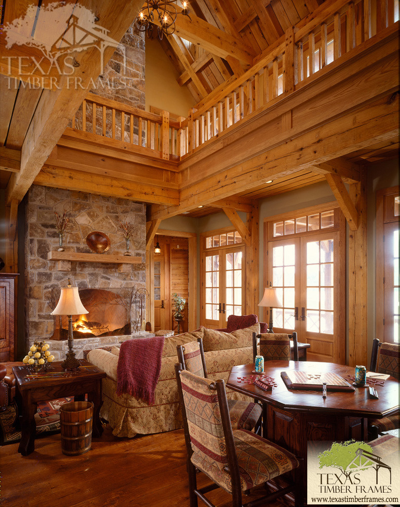 Great Room 2 - Texas Timber Frames | Texas Timber Frames | Flickr