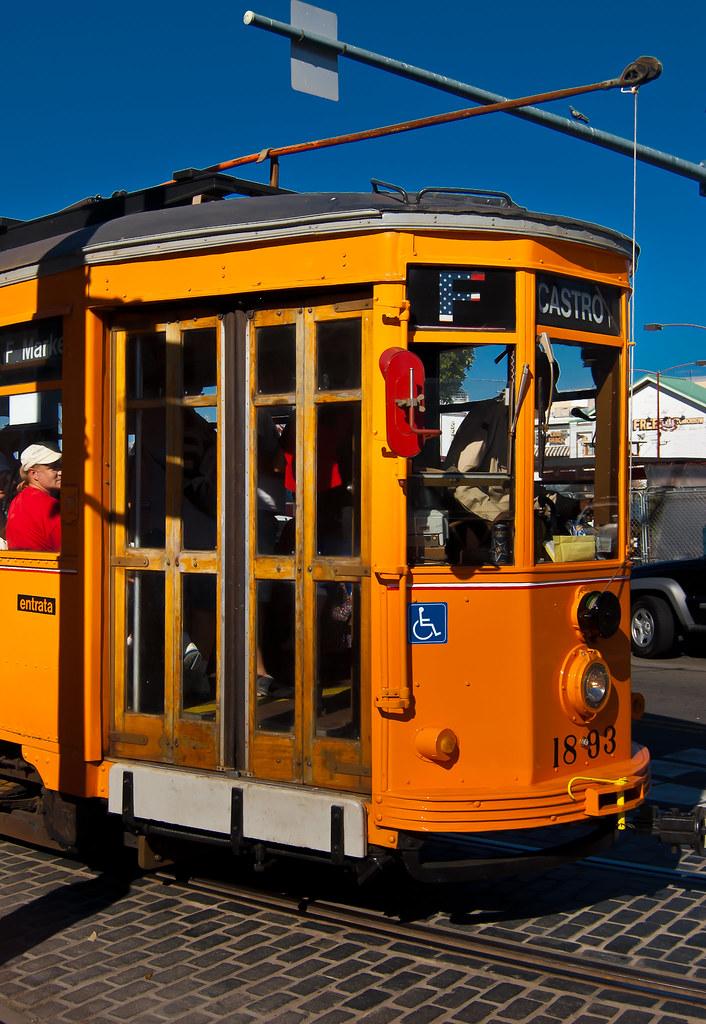 USA / California / San-Francisco / Yellow Tram 01