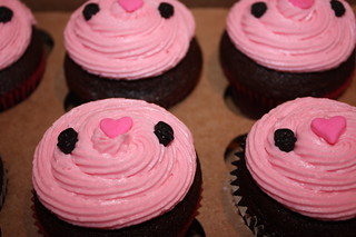 Pink Pirate Cupcakes | by We Take the Cupcake