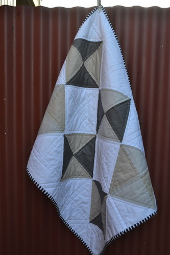 Small geometric quilt | by sew&sews