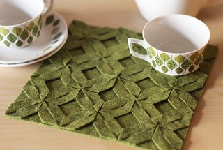 Modular no-sew trivet | by How About Orange